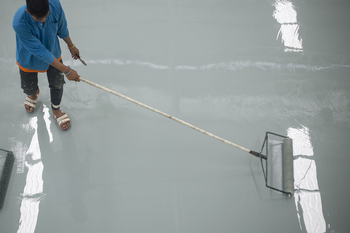 How To Apply Epoxy Resin Coating To Your Commercial
