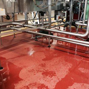 Resdev Pumadur RT Floor Screed in red